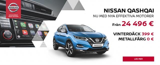 Nissan Quasqai nu med nya effektivare motorer