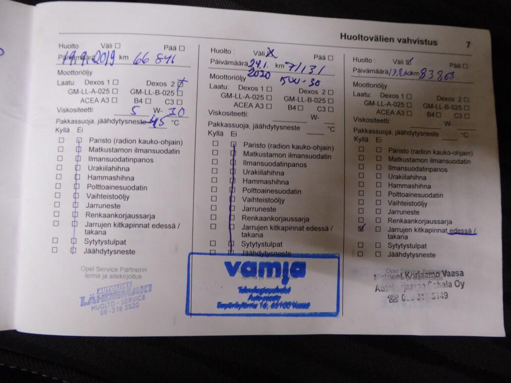OPEL ZAFIRA TOURER Enjoy 1.6 CDTI ecoFLEX Start/Stop 100