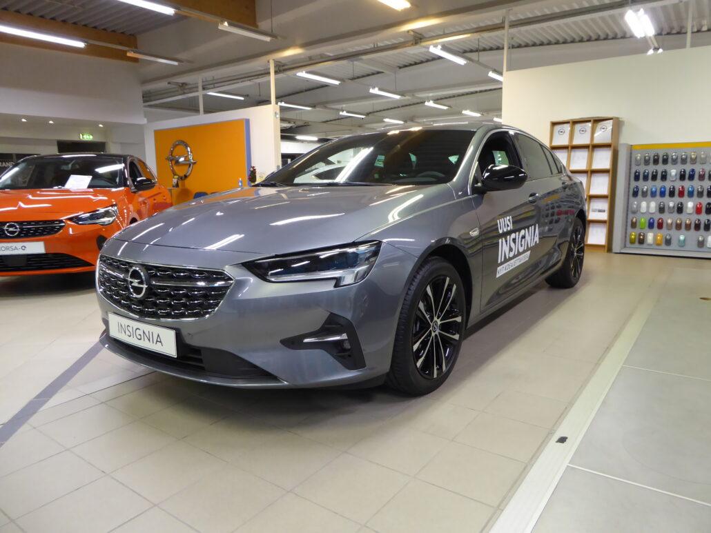 OPEL INSIGNIA Grand Sport Executive 120 D Turbo A (MY21.B) *Rahoitustarjous 0% korolla+kulut*